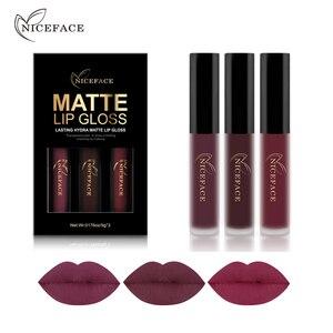 NICEFACE 3PCS Liquid Lipstick