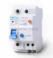 Free Shipping Two Years Warranty LE C20 1P N 20A 1 Pole ELCB RCD Earth Leakage