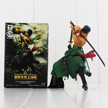 Anime One Piece Figure Roronoa Zoro PVC Figure Special Version Cool Model for Collection with Retail Box 17cm Doll Free Shipping
