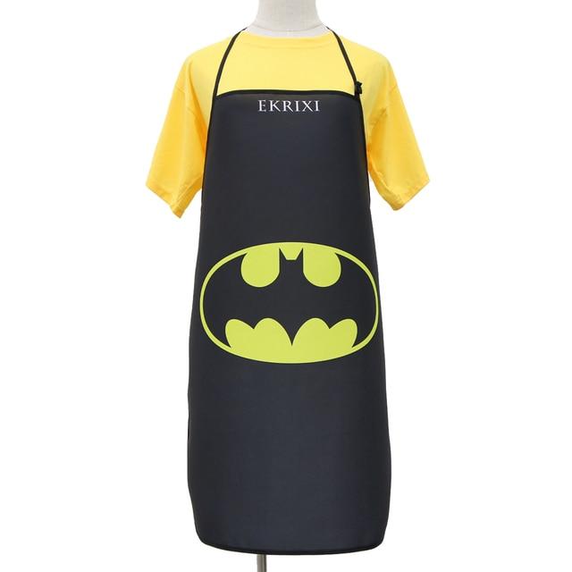 d51c9f5a6f5 Batman Super hero Apron Grill Kitchen Chef Apron Professional for BBQ,  Baking, Cooking for Men Women Adjustable