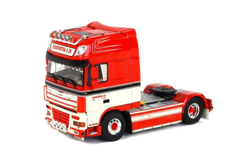Exquis Alliage Modèle WSI 1:50 Échelle DAF XF105 4X2 Transport Camion Tracteur Véhicules Moulé Sous Pression Jouet Modèle Cadeau, collection, Décoration