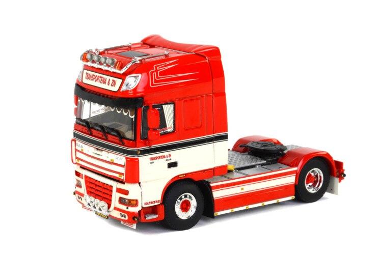Modèle en alliage exquis WSI 1:50 échelle DAF XF105 4X2 camion de Transport tracteurs véhicules moulé sous pression jouet modèle cadeau, Collection, décoration