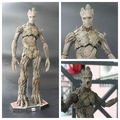 """Hot Toys Guardians of the Galaxy Groot 1/6 Scale PVC Action Figure Collectible Model Toy 15"""" 42cm"""