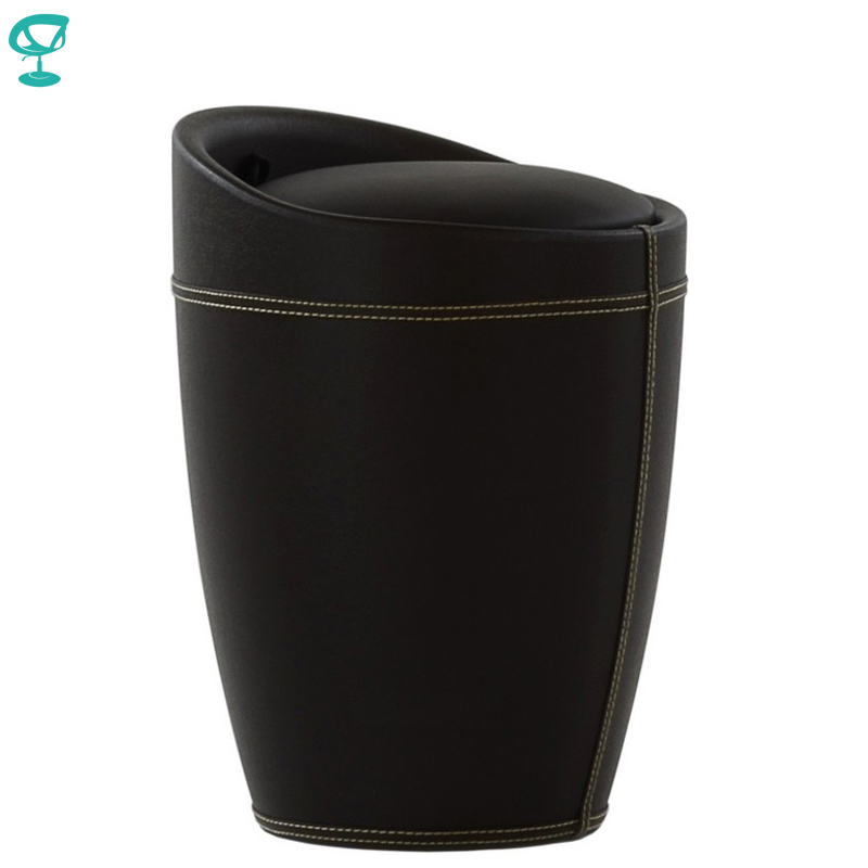 95278 Barneo N-9 Eco-leatherKitchen Breakfast Interior Stool Bar Chair Kitchen Furniture Brown Free Shipping In Russia