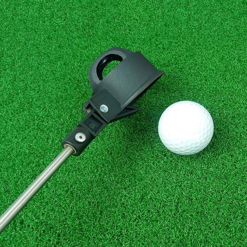 Golf 8 Ection Antenna Mast Ball Picker Golf Ball Catcher Golf Ball Pick Up Tool Golf Accessory