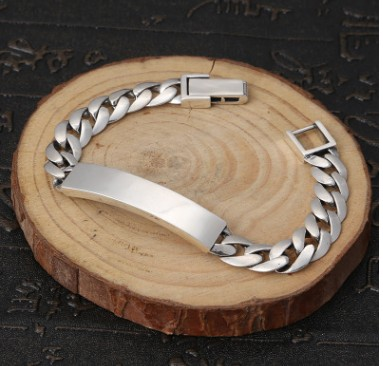 mens bracelets 2018 friendship bracelets 9mm man bracelet silver 925