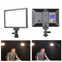 SUPON L122T 3300~5600K LED Lamp On Camera Video Light Photography Studio Lighting for Photo Canon Nikon camera youtube