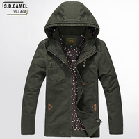 Male Jacket Spring Autumn Cotton Quality Brand Men Jacket Fashion Casual Men S Jacket Bomberjacke Green