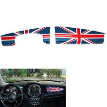 For MINI Cooper Accessories F55 F56 Dashboard Decoration Instrument Box Cover Sticker for Interior