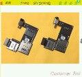 Original new Flex para MOTO G2 2 ª Gen XT1063 / 4 / 8 / 9 conector titular leitor de cartão SIM + Micro SD + USB cabo Flex