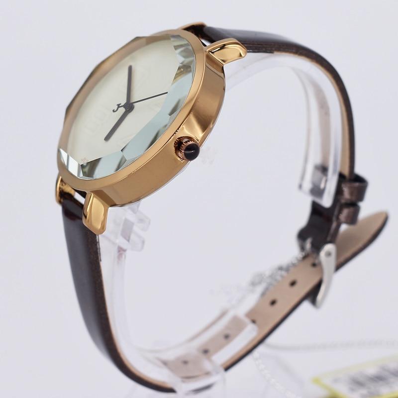 Julius Lady Women's Watch Japan Quartz Hours Clock Fashion Dress Retro Bracelet Mixed Colors Leather Girl Birthday Gift  534
