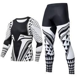 2019 Новое поступление модные тренировка бега трусцой 2 шт. мужской спортивный костюм анти-пилинг анти-выцветание спортивная одежда забавные