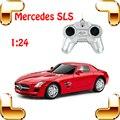 Presente de Ano novo Mercedes SLS 1/24 RC Mini Roadster Carro Remoto Brinquedo Para Crianças & Meninos de controle Elétrico Deriva Modelo de Carro de Corrida presente