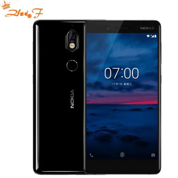 D'origine Nokia 7 2017 nouvelle Snapdragon 630 Octa core 64g 4g 5.2 ''16.0MP Android 7 3000 mah google play Dual SIM Mobile téléphone