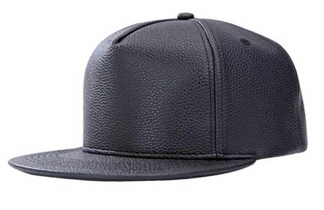 48803696 Bulk Hats 20pcs Nice Black PU Snapback Hat Mens Fall Winter Plain Flat Bill Snapbacks  Caps Buy Fashion Men Leather Baseball Cap