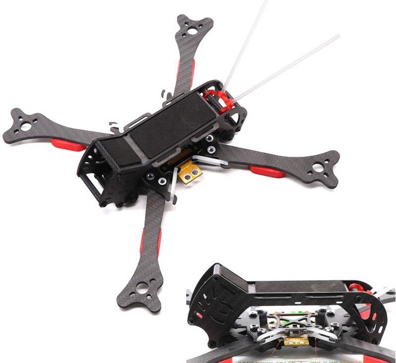 HSKRC 57 série 200/235/268/292/324mm fibre de carbone véritable X RC Drone FPV cadre de course Kit X200/X235/HX215 quadrirotor Rack QAV250