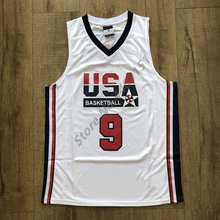 e91a9d2a7 Vintage Michael Jordan 1992 Dream Team USA Throwback Basketball Jersey Men  Size S-XXL(