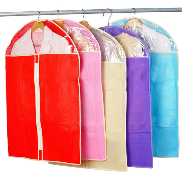 2017 Home Dress Clothes Garment Suit Cover Dustproof Storage Bags Jacket Skirt Storage Protector Bag Organizer  sc 1 st  AliExpress.com & 2017 Home Dress Clothes Garment Suit Cover Dustproof Storage Bags ...