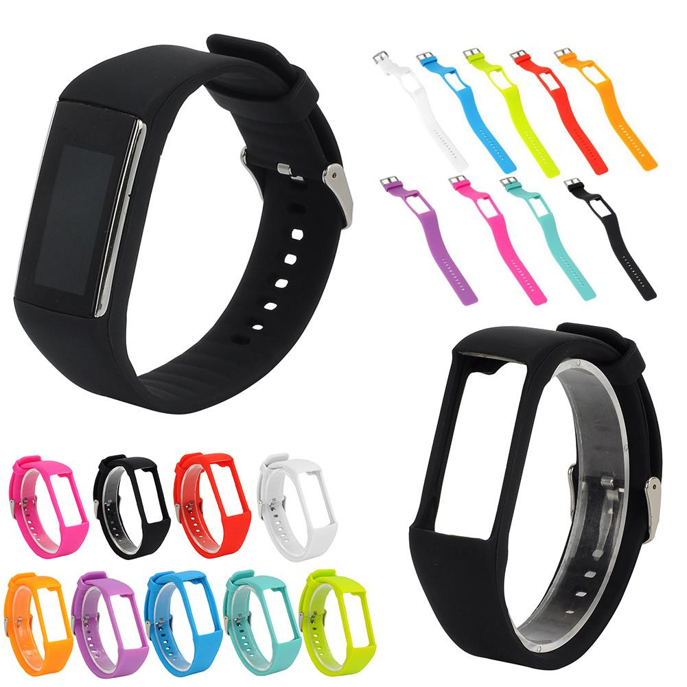 Universal Silicone Replacement Watch Strap Wristband For Polar A360 A730 GPS Smart Watch Smart Bracelet цена