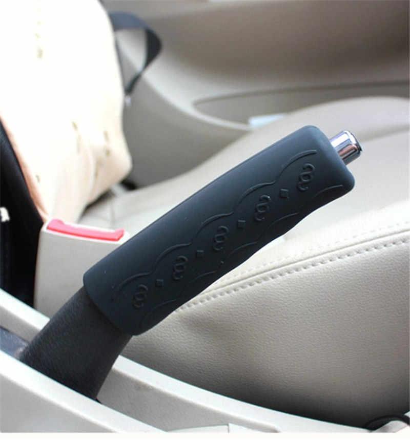 Универсальный Авто ручной автомобильный редуктор с рукояткой рычага ручного тормоза, чехол, защитный чехол, силиконовые аксессуары