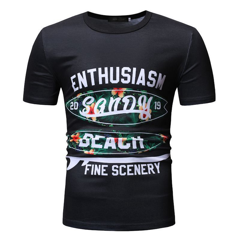 Males T Shirt Digital Printed Brief Sleeve Informal T Shirt Males Pullover Male Clothes Stranger Issues T-Shirts, Low cost T-Shirts, Males T Shirt Digital Printed Brief Sleeve Informal T...