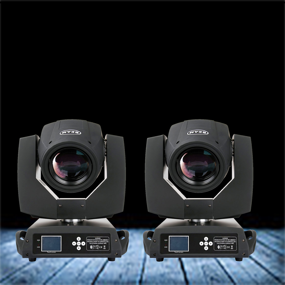 2 pcs/lot 230W Sharpy Moving head Beam Light 7r Osram lamp beam 7R Touch screen display 7R gobo wash stage dj laser light стоимость