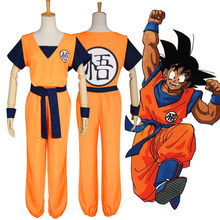 Anime Cosplay voor Kung Fu Pak in Dragon Ball Casual met Pruiken Laarzen Japanse Vestidos Kostuum Volwassen in Carnaval Halloween party(China)