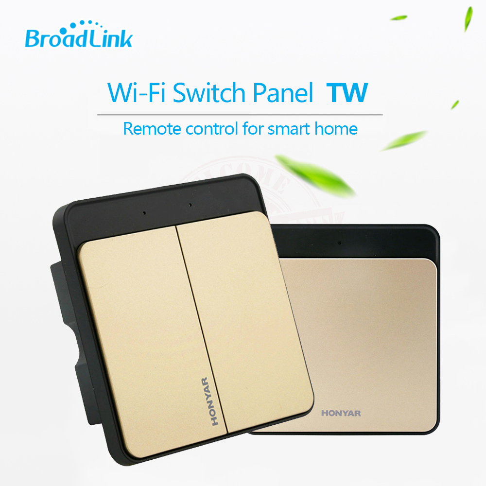 Broadlink honyar 315 mhz smart home pared interruptor de luz, WiFi control del t