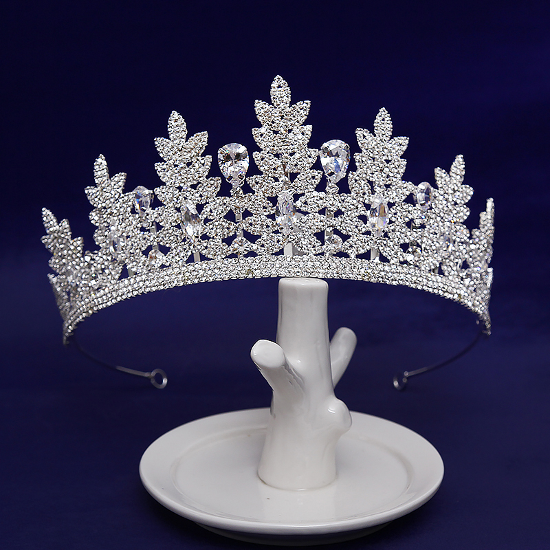 New Diverse Silver Crystal Bride Crowns Fashion Queen Wedding Headdress Headpiece Wedding Hair Jewelry Hair Accessories цена