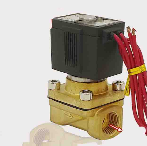 1/2 2/2 way Normally closed type air,water.steam,gas brass solenoid valve DC12V,DC24V,AC24V,AC110V,AC220V,AC380V 2w 025 06 2 way brass air gas water solenoid valve 1 8 bsp normal close dc12v dc24v ac110v ac220v