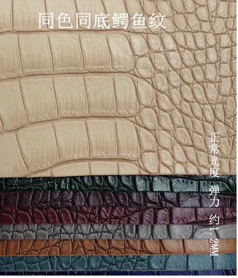 telas par sillones pas cher tissus tissu d ameublement pour canape piel sintetica tecido couro tela par muebles crocodile 1210034