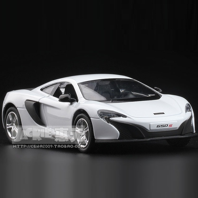 High Simulation Exquisite Diecasts&Toy Vehicles: RMZ city Car Styling Mclaren 650S Supersport 1:36 Alloy Diecast Model Toy CarDiecasts & Toy Vehicles