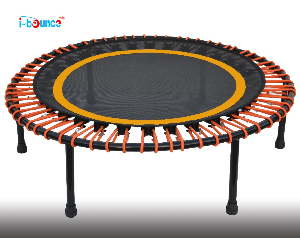 Fitness mini trampoline rebounder with bungee rope suspention 40inch 1 meter Diameter tramp sun trampoline 12