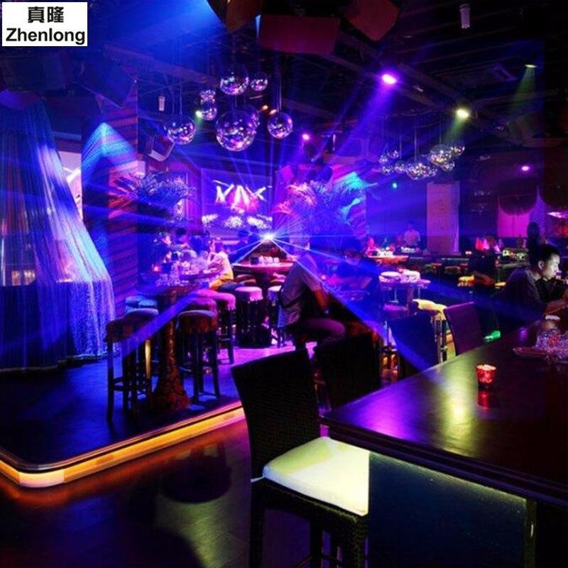 Afstandsbediening DMX512 150 mw Blauwe Laser effect Scanner DJ Disco ...