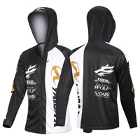 Male Hoodie Fishing Cycling Jersey Coat Long Sleeves Shirt Cloth Quick Dry Outdoor Sports Clothing