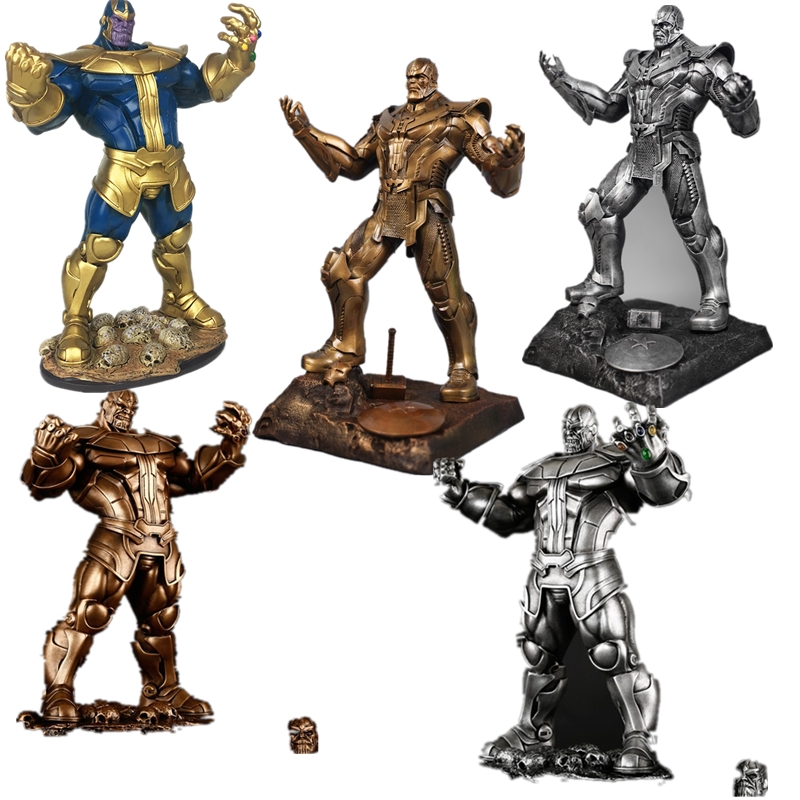 Lensple Infinity War Thanos Large Size 35cm Resin Action Figure Model Toy