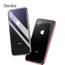 ca9adc7789 Benks Plating TPU Soft Silicone Phone Case For iPhone X XR XS XS Max  Protective Case