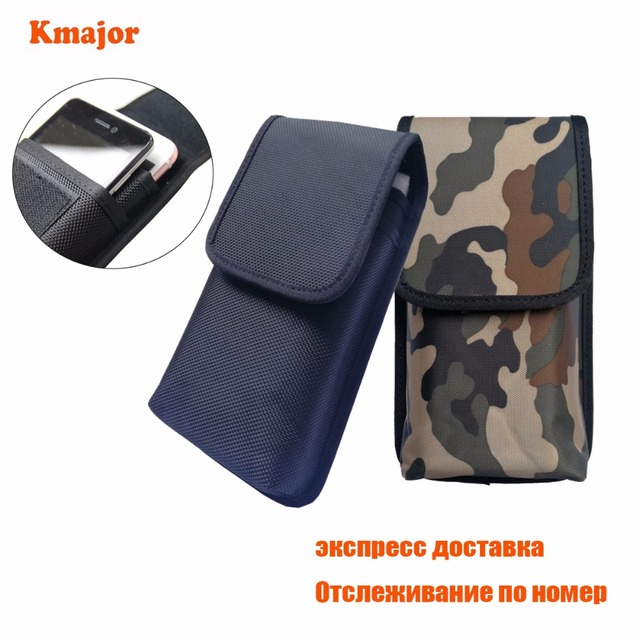 low priced ae43f ee27e US $9.18 8% OFF|Double cell phone Waist Pack, For JESY J9S Nylon Pouch Bag  with Belt Clip Holster Case For Xiaomi Mi max 2 Max2 phone case XXL-in ...