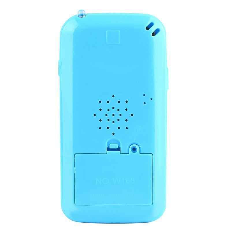 Teléfono Móvil negro YPhone juguete de aprendizaje de música niños Simulador de música teléfono pantalla táctil niños juguete de aprendizaje educativo regalo nuevo