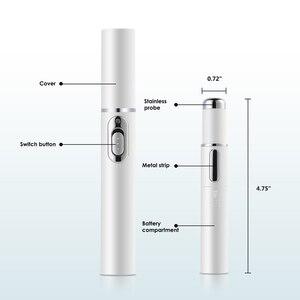 Image 5 - Lápiz de tratamiento láser para terapia de luz azul electrónica, eliminación de arrugas, acné, EMS, Blu ray