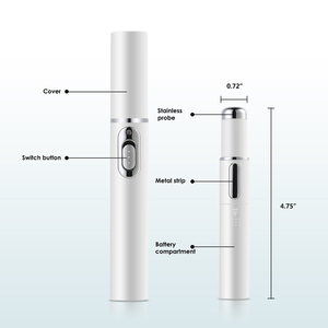 Image 5 - Medical Electronic  Blue Light Therapy Laser Treatment Pen Spots Laser Ance Wrinkle Acne Removal EMS Blu ray