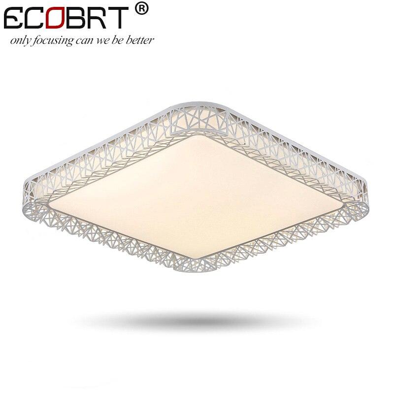 ECOBRT-Mdoern Brief Acryl indoor led plafondverlichting slaapkamer - Binnenverlichting