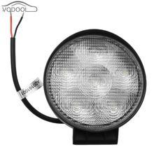 18 Вт Круглый LED автомобилей туман фары Водонепроницаемый Грузовик Offroad Worklight лампы авто светодиод свет работы Вспомогательный освещение