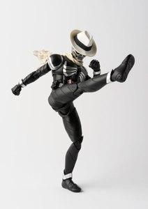 "Image 5 - Original BANDAI Tamashii Nations S.H.Figuarts (SHF) Action Figure   Kamen Rider Skull ""Kamen Rider W & Decade Movie War 2010"""