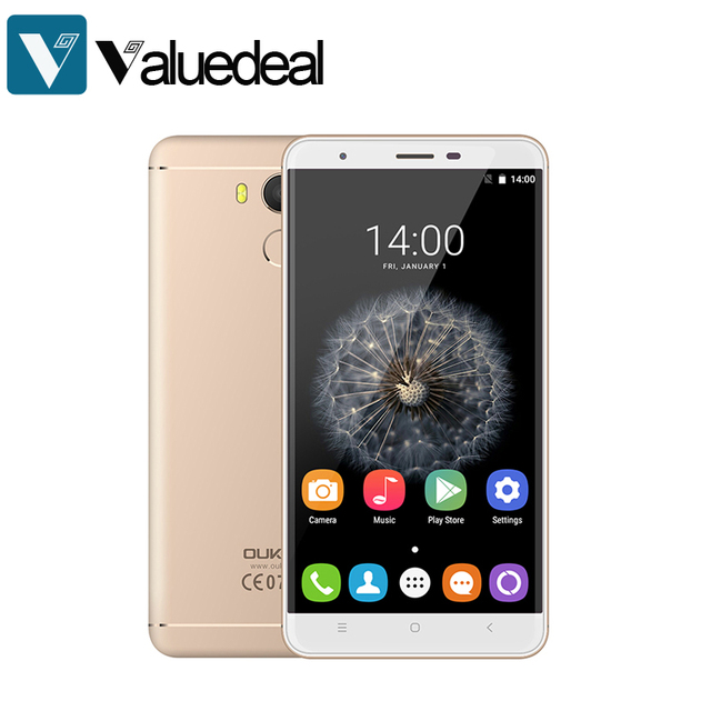 "Original Oukitel U15 pro MT6753 Octa Core Android 6.0 Smartphone 3G Ram 32G Rom 5.5"" Fingerprint Cellphone 3000mAh Mobile Phone"