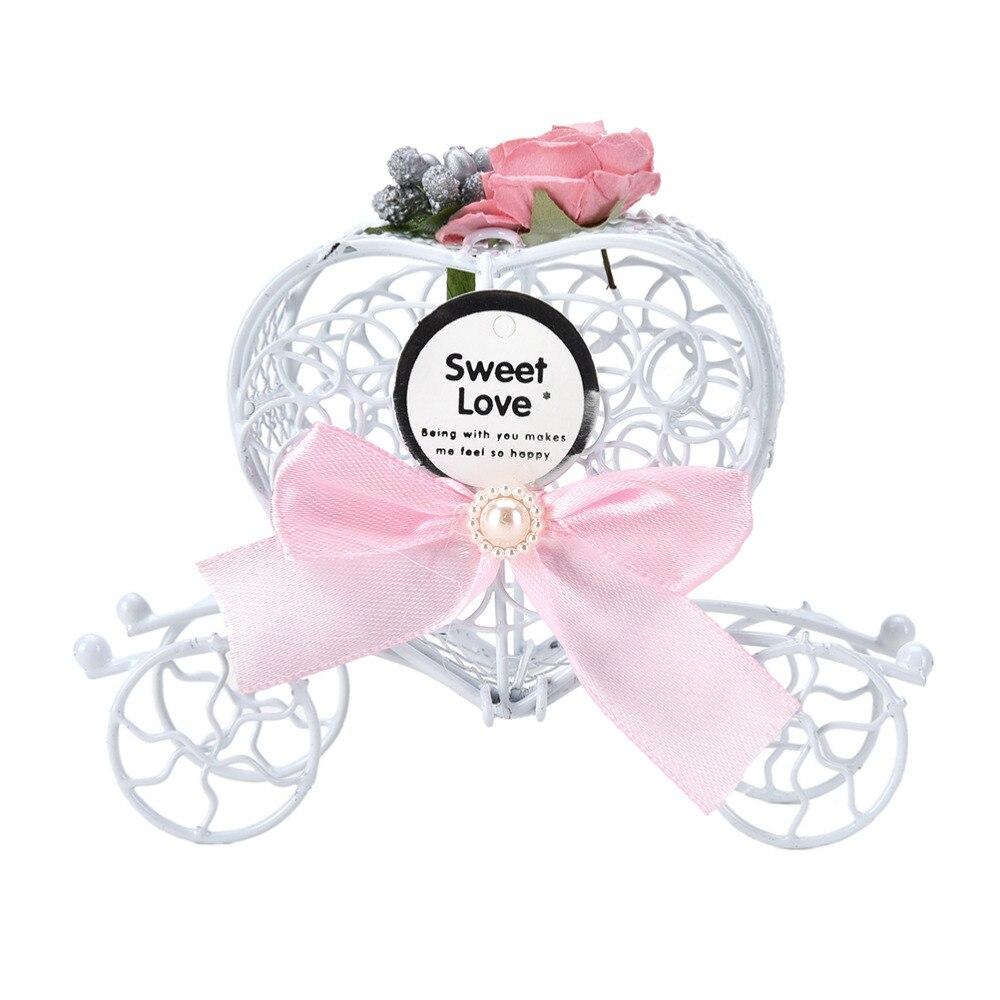 5PCS Chocolate Candy Box Cinderella Carriage Wedding Favor Hollow ...
