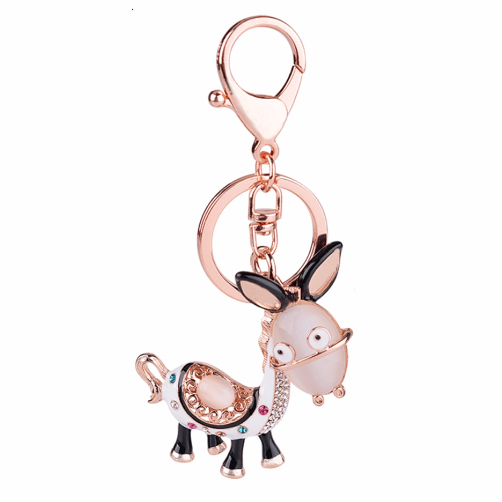 Donkey Image Design Portable Handbag Hanger