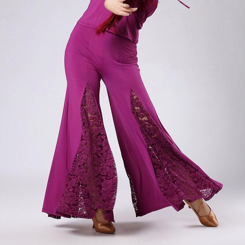 Nueva danza latina del estilo viste spandex encaje Latina danza ...