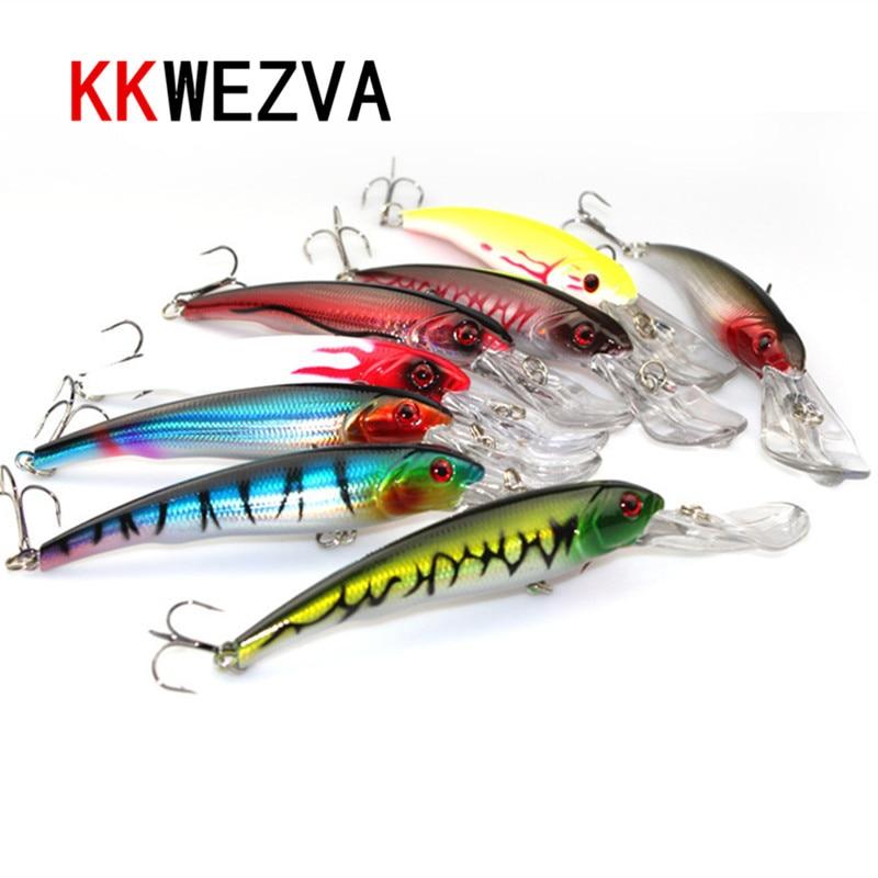 KKWEZVA Big Games 29g 16.5cm Minnow kunstaas diepwim zoutwater - Visvangst - Foto 1