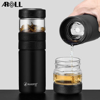 2019 Thermos Vacuum Flask Tea Thermo Stainless Steel Car Sport Insulated Heat Thermal Water Bottle Tea Thermos